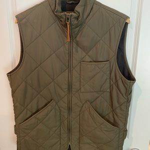 J.Crew Sussex Quilted Vest with Primaloft lining.